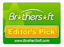 Glary Utilities Pro Awards of Editor's Pick from Brothersoft
