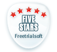 Glary Utilities Pro 5 Stars Awards from FreeTrialSoft