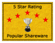 Glary Utilities 5 Star Rating from Popular Shareware