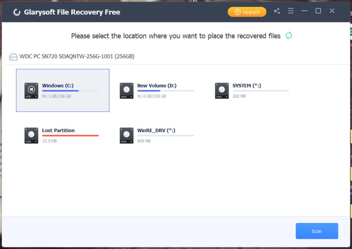 Glarysoft File Recovery