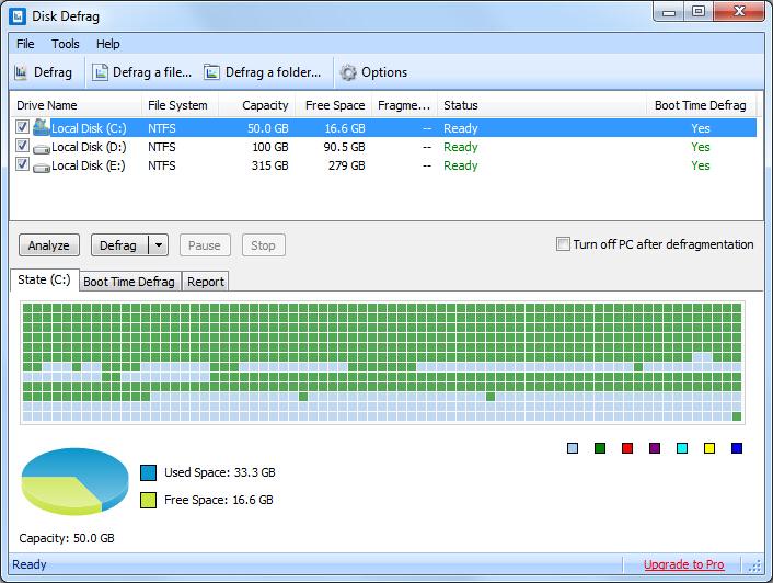 Free download Disk SpeedUp